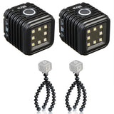 (2) LITRA LitraTorch Photo and Video Light with (2) Joby Gorillapod Flexible Mini-Tripod