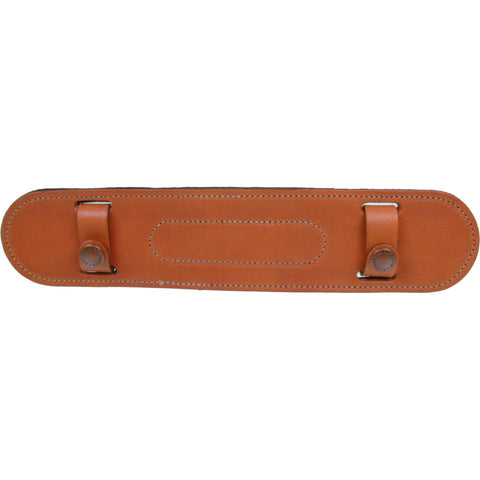 "Billingham SP15 Leather Shoulder Pad 1.5"" Wide, Tan"