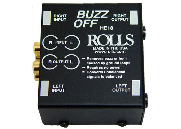 Rolls HE18 - Buzz Off 2-Channel Hum and Buzz Remover