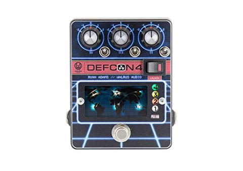Walrus Audio Ryan Adams DEFCON4 Preamp Guitar Effect Pedal