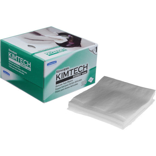 "Kimwipes Kimtech Science Delicate Task Wipes, 4 1/2x8 1/2"", 280 Count Per Box."
