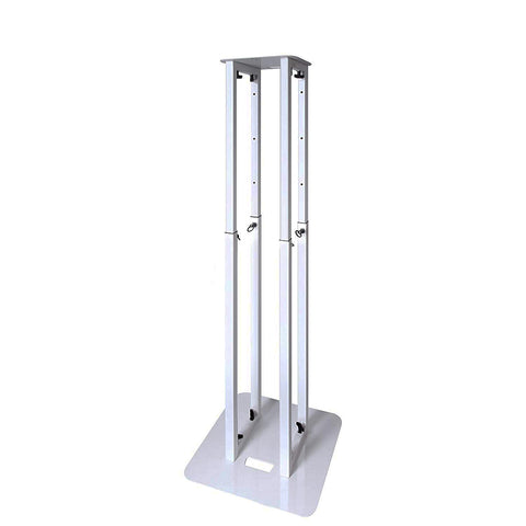 Novopro PS1XL Adjustable Podium Lighting Stand with White & Black Scrims (White)