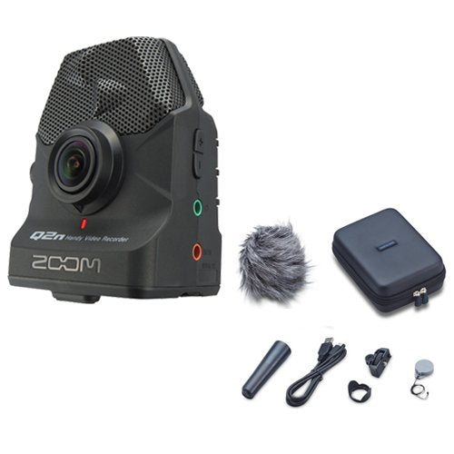 Zoom Q2n Handy Video Recorder with Accessory Pack