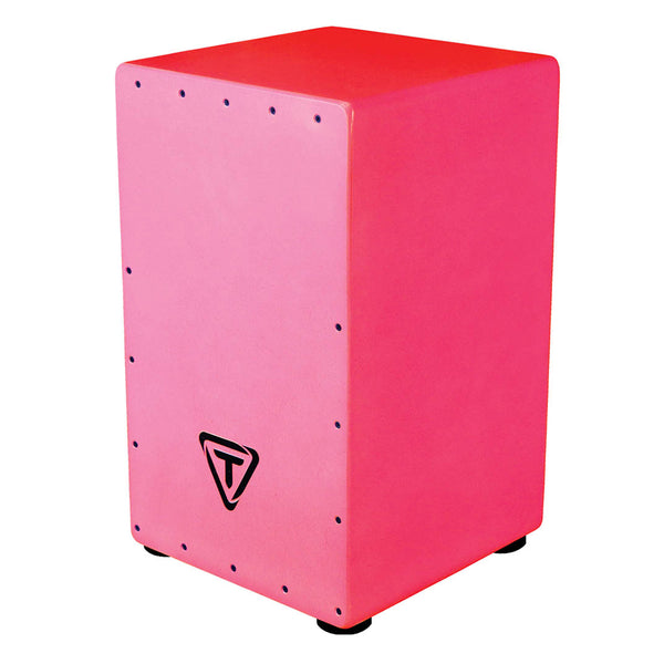 Tycoon Percussion Bold Series Cajon Pack - Pink