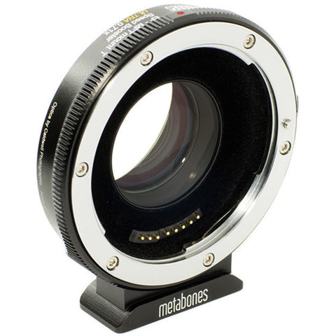 Metabones T Speed Booster Ultra 0.71x Adapter for Canon Full-Frame EF-Mount Lens to Micro Four Thirds-Mount Camera