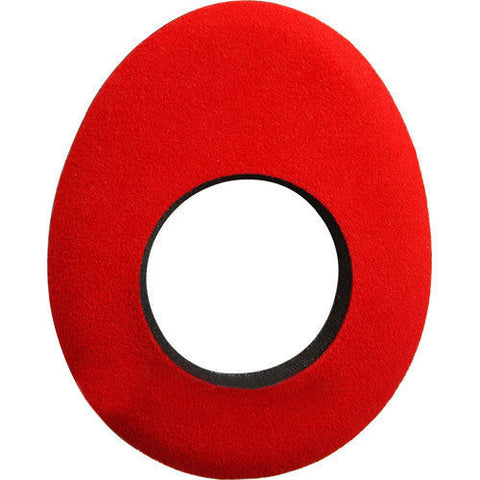 Blue Star 90132 Red Microfiber Oval Large Eye Cushion