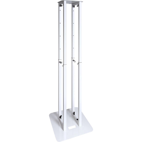 "Novopro PS1XXL Adjustable Podium Lighting Stand with White & Black Scrims 7'8"" (White)"
