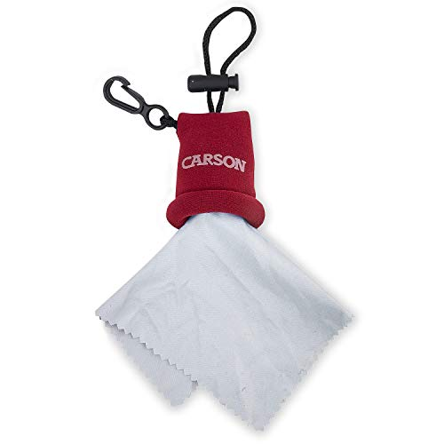 Carson Stuff-it Microfiber Cloth (Red)