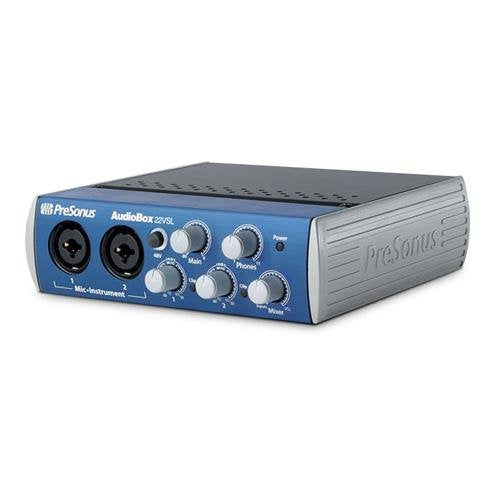 Presonus AudioBox 22VSL 24-Bit/96 kHz 2x2 USB 2.0 Audio Interface