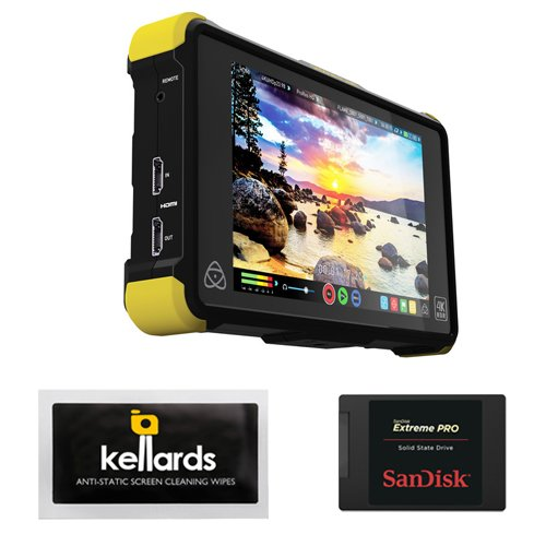 "Atomos Shogun Flame 7"" 4K HDMI/12-SDI Recording Monitor Bundle"