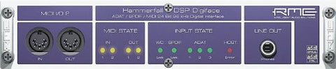 RME DigiFace 24bit 96K Digital IO for Hammerfall DSP PCMCIA and PCI Audio Interface