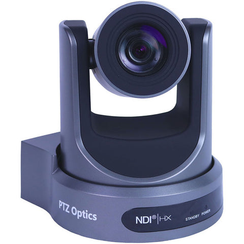 PTZOptics 30X Optical Zoom, Ndihx, 3G-Sdi, Hdmi, Cvbs, Ip Streaming 1920 X 1080P 60.7 Degree Fov (Gray)