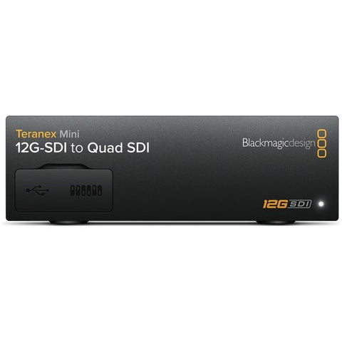 Blackmagic Design Teranex Mini 12G-SDI to Quad SDI Converter