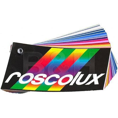 Rosco Roscolux Designer Color Selector Swatchbook - 3 x 6""