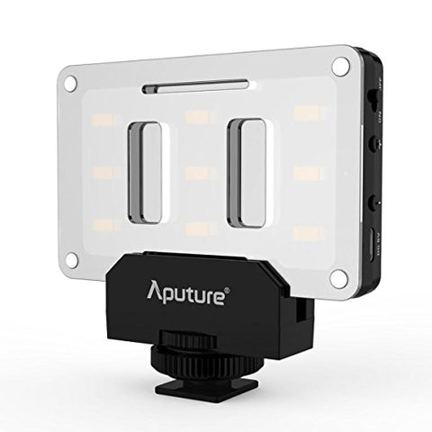 Aputure AL-M9 Amaran LED Mini Light on Camera Video Light, Black …