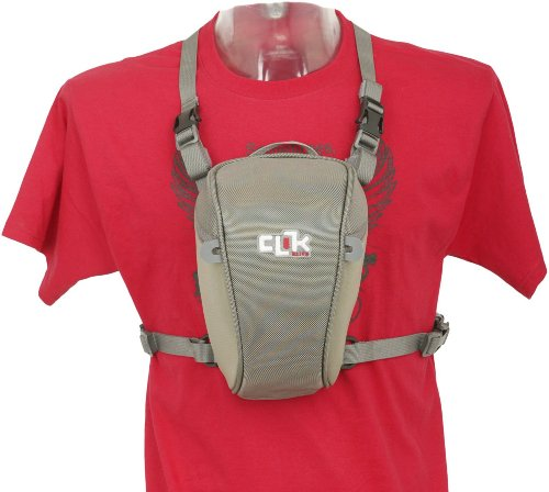 Clik Elite CE702GR Standard SLR Chest Pack, Gray