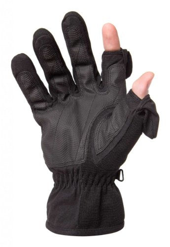 Freehands Women's Stretch Gloves (Medium, Black)