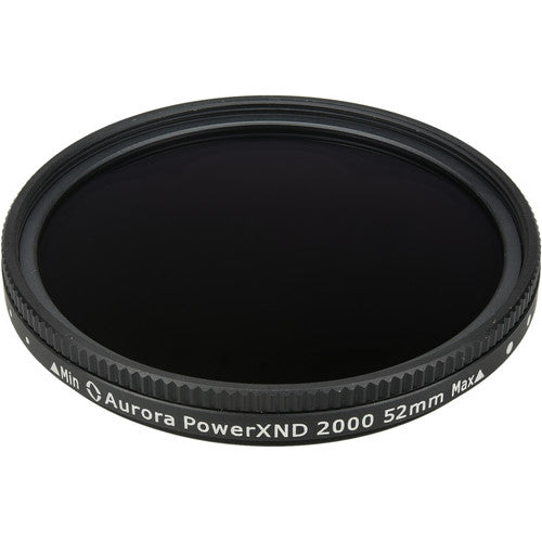 Aurora-Aperture 52mm PowerXND 2000 Variable Neutral Density 1.2 to 3.3 Filter (4 to 11 Stops)