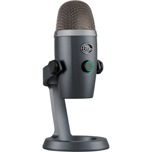Blue Yeti Nano Multi-Pattern USB Condenser Microphone (Shadow Gray)