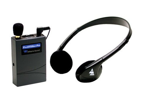 Williams Sound PKTPRO1-H21 Pocketalker Pro with Deluxe Folding Headphone