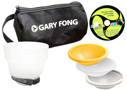 Gary Fong Wedding Event Flash Modifying Kit (Black/White/Gray/Amber)