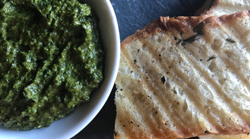 Cilantro-Walnut Pesto