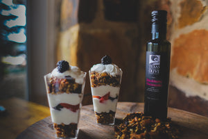 Blackberry Cheesecake Balsamic Granola