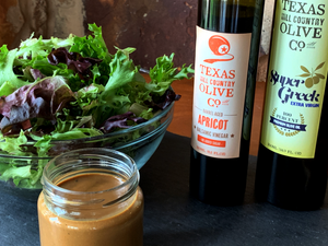 Creamy Apricot Ginger Dressing