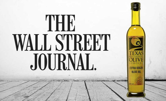 Wall Street Journal: The Best Olive Oils Made in the U.S.