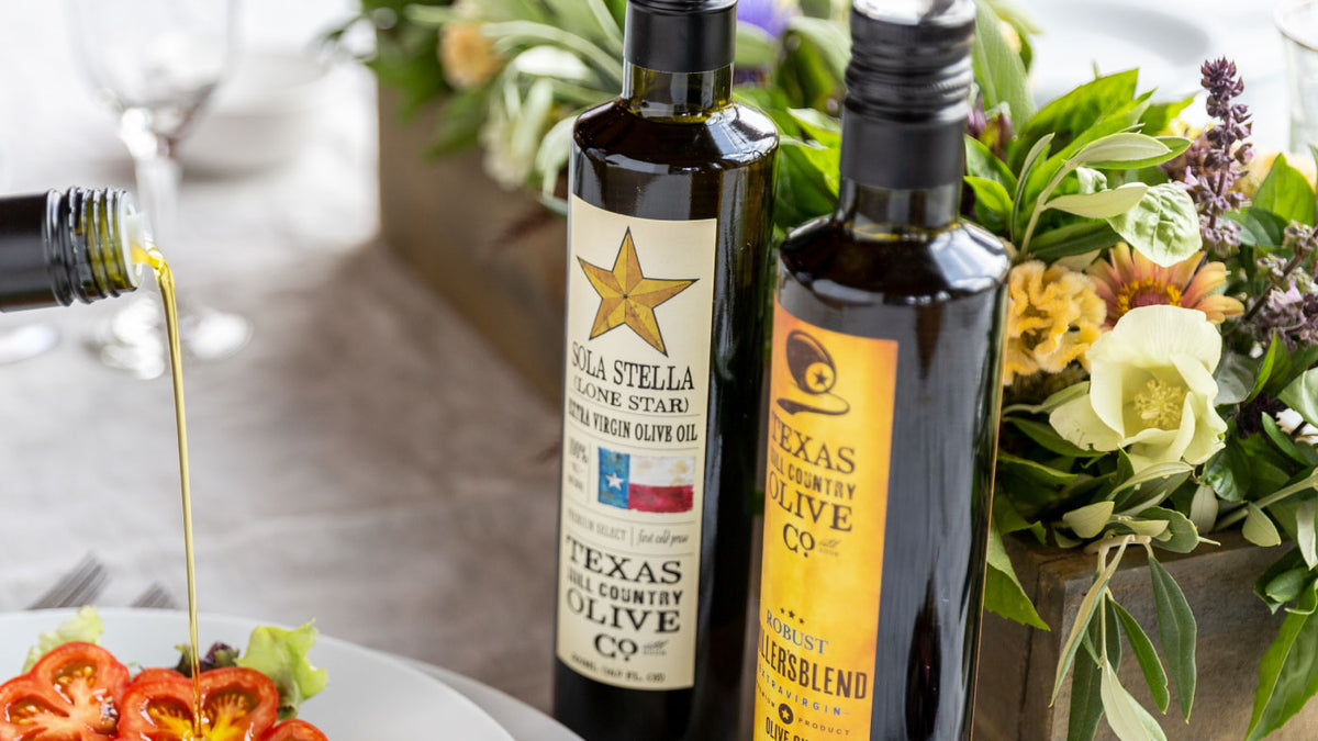 Olive Oils – Texas Hill Country Olive Co