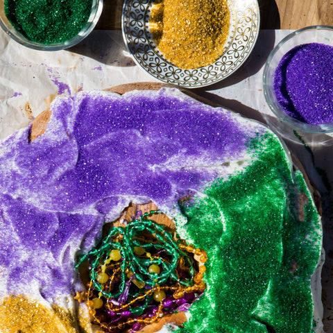 Mardi Gras King Cake | Texas Hill Country Olive Co.