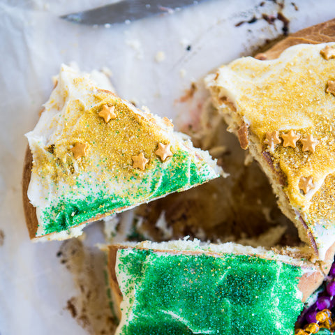King Cake Slice | Texas Hill Country Olive Co.