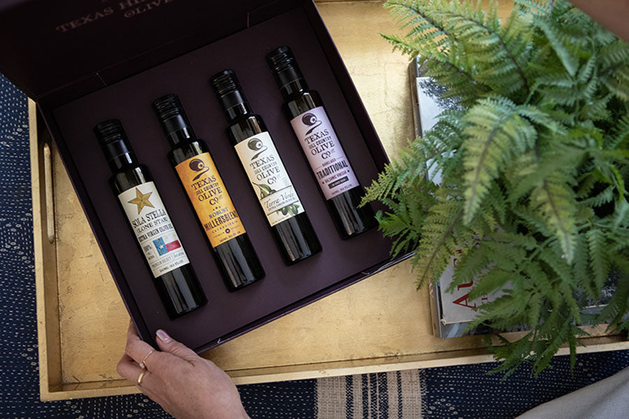 Award Winning Keepsake Box - texas olive oil gifts | Texas Hill Country Olive Co.