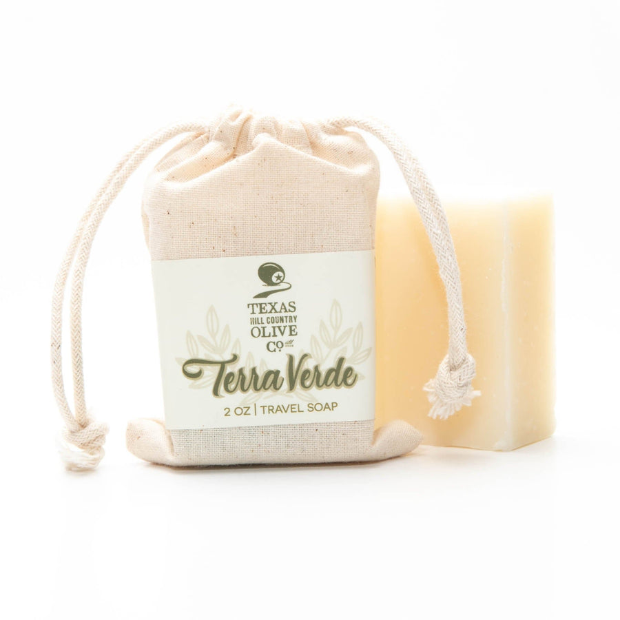 Terra Verde Premium Soap Bar 2 oz. - Spa - Texas Hill Country Olive Co.