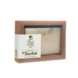 Terra Verde Premium Soap Bar 4 oz. - Spa - Texas Hill Country Olive Co.