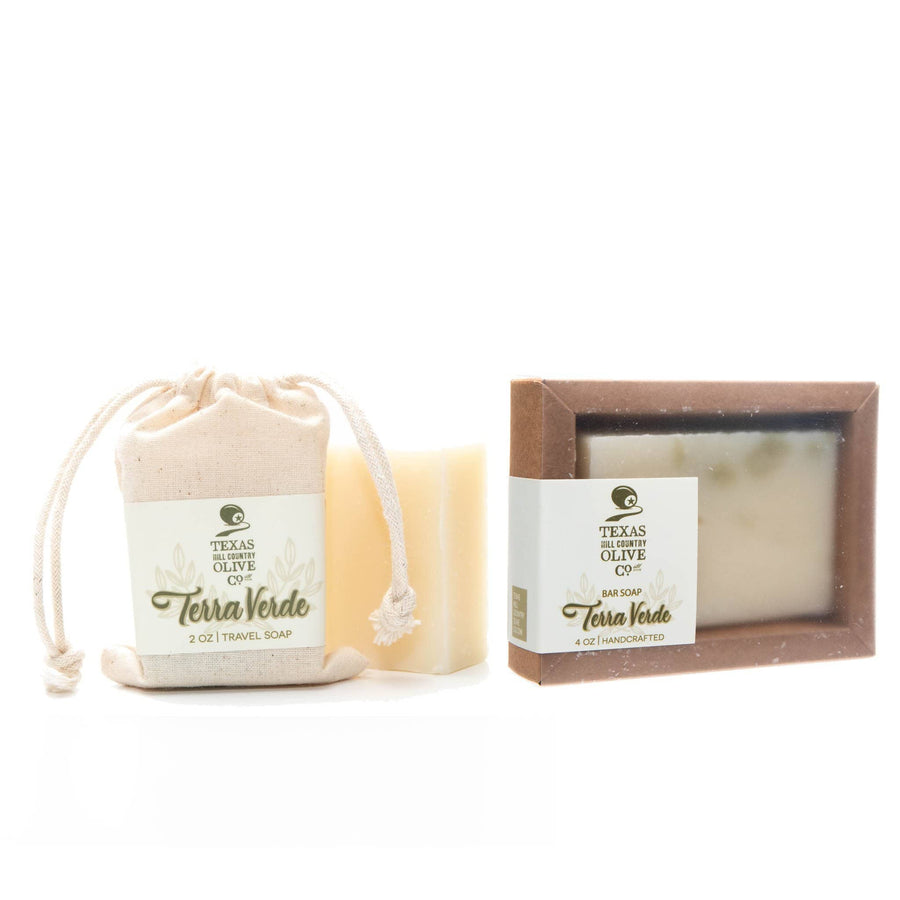 Terra Verde Premium Soap Bar - Spa - Texas Hill Country Olive Co.
