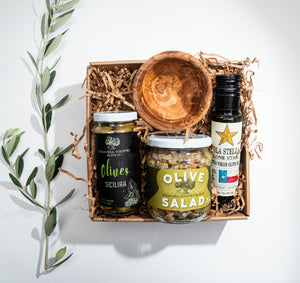 The Oliva Gourmet Gift Box - Gift Sets - Texas Hill Country Olive Co.