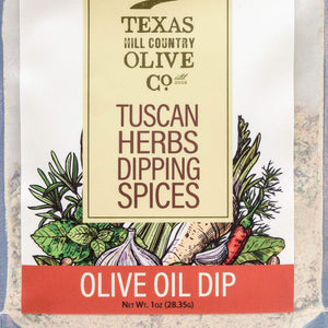 Tuscan Herb Dipping Spice - Olive Oil Dip - Texas Hill Country Olive Co.