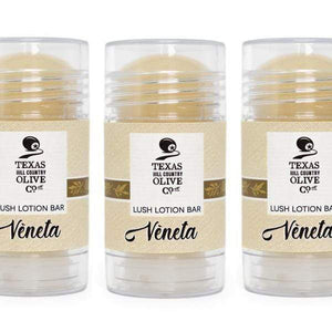 Veneta Lush Olive Oil Lotion Bar - Spa - Texas Hill Country Olive Co.