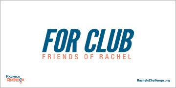 Friends Of Rachel Club - Banner