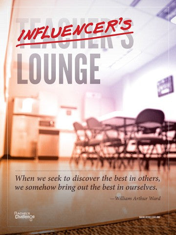 Influencer's Lounge Poster