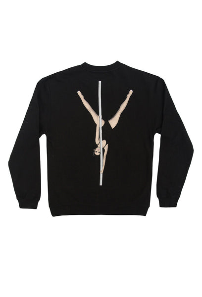 KIMOJI STRIPPER STAFF CREW SWEATSHIRT