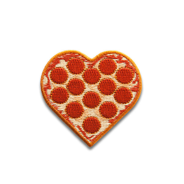 KIMOJI PIZZA HEART PATCH