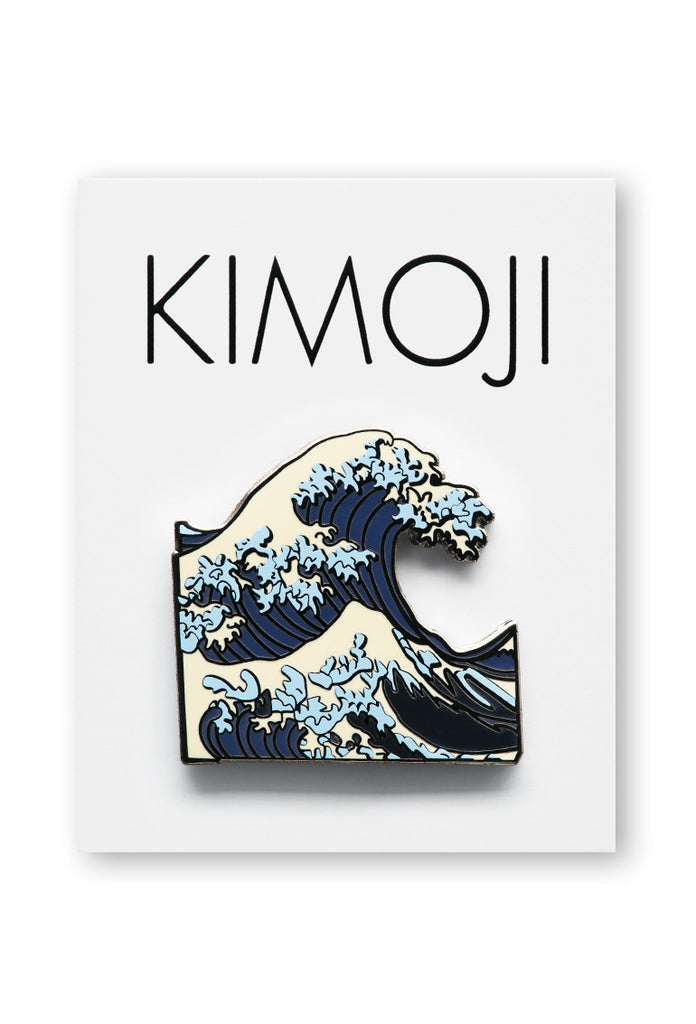 KIMOJI WAVE PIN