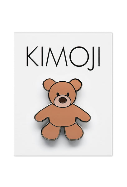 KIMOJI TEDDY BEAR PIN