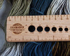 Destination Yarn Accessory Great Lakes Ruler