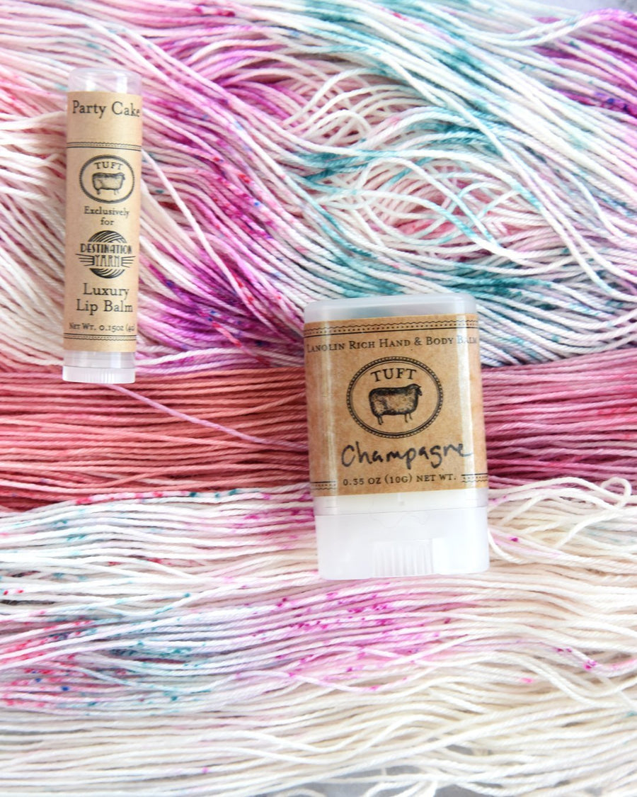 Destination Yarn Accessory Tuft Woolens Lip Balm