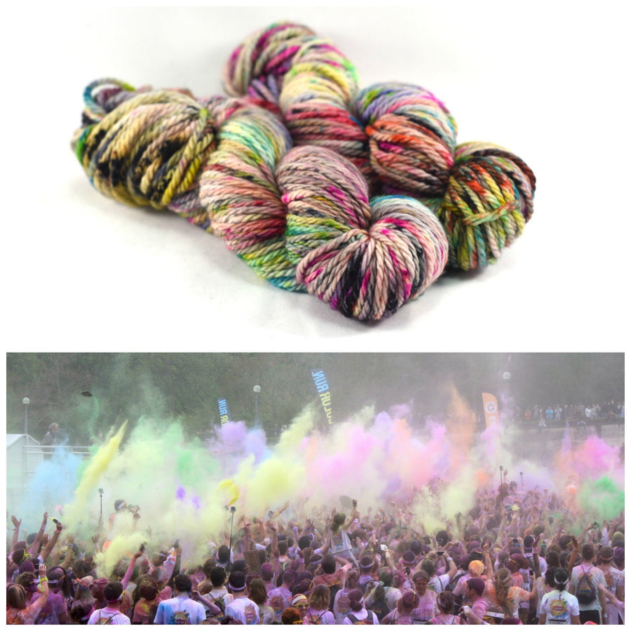 Destination Yarn Bulky Weight Yarn Color Run - Wardrobe Trunk