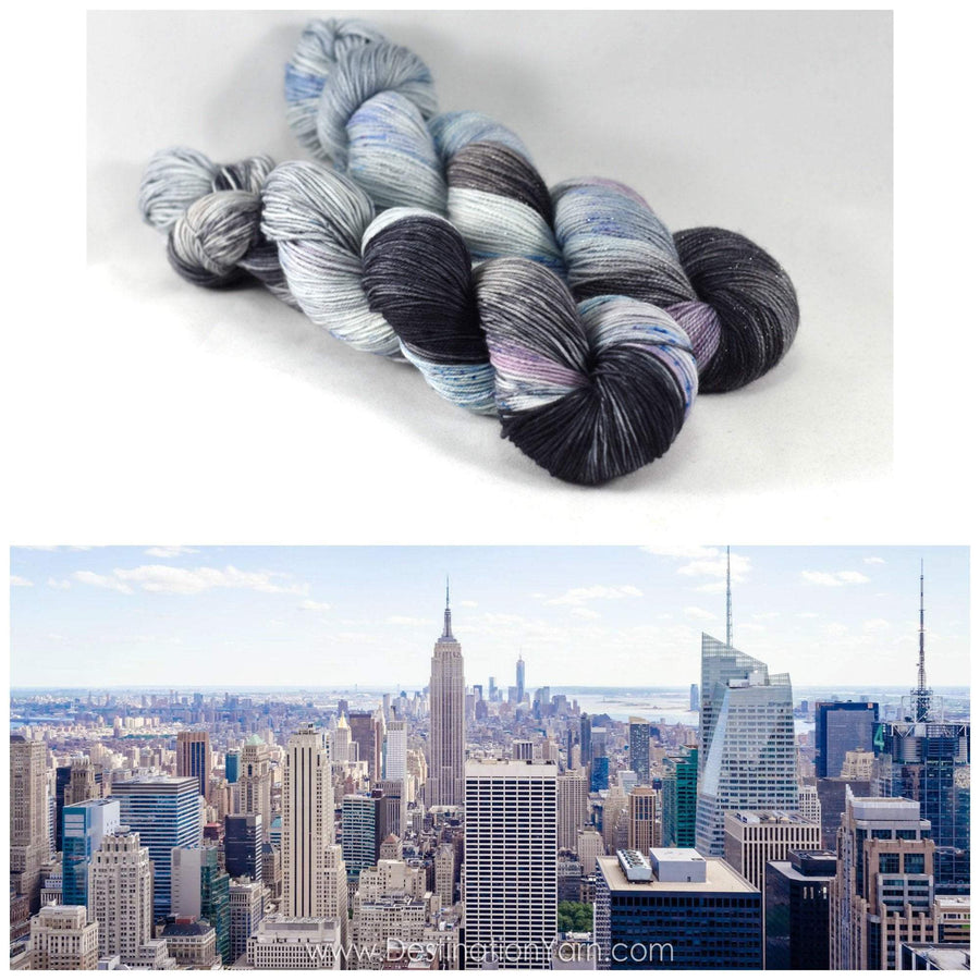Destination Yarn DK Weight Yarn Manhattan Cityscape - DK Weight