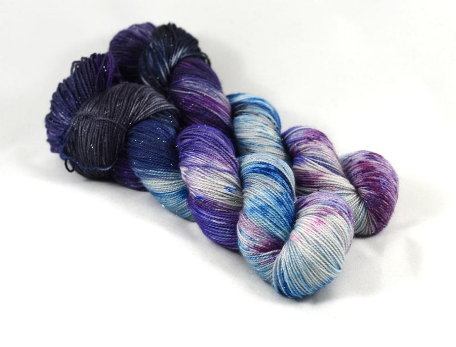 Destination Yarn fingering weight yarn Adler Planetarium